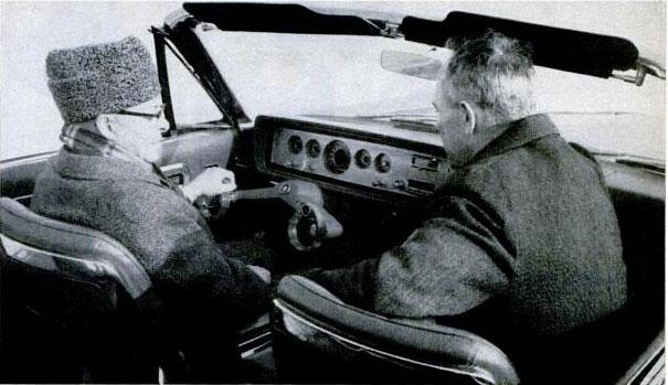 Ford wrist twist steering system 1965