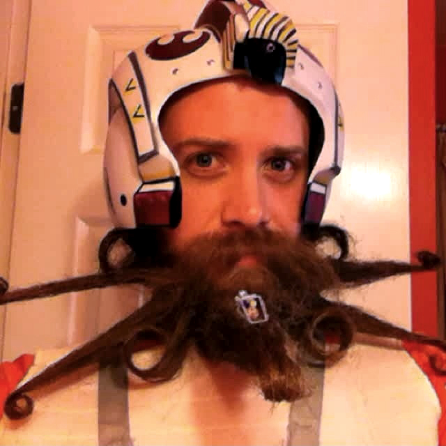 Chad Roberts X-Wing Fighter Beard