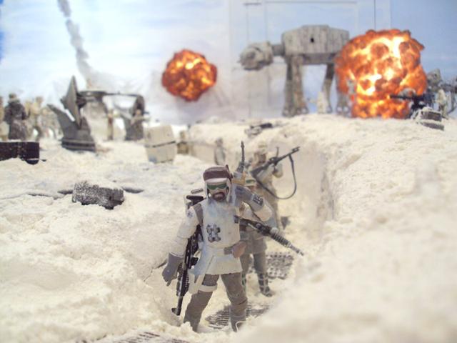 Hoth Diorama