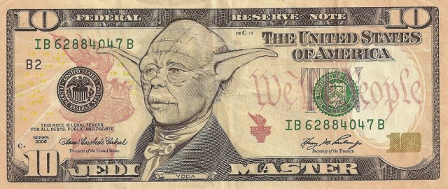Altered dollars by James Charles