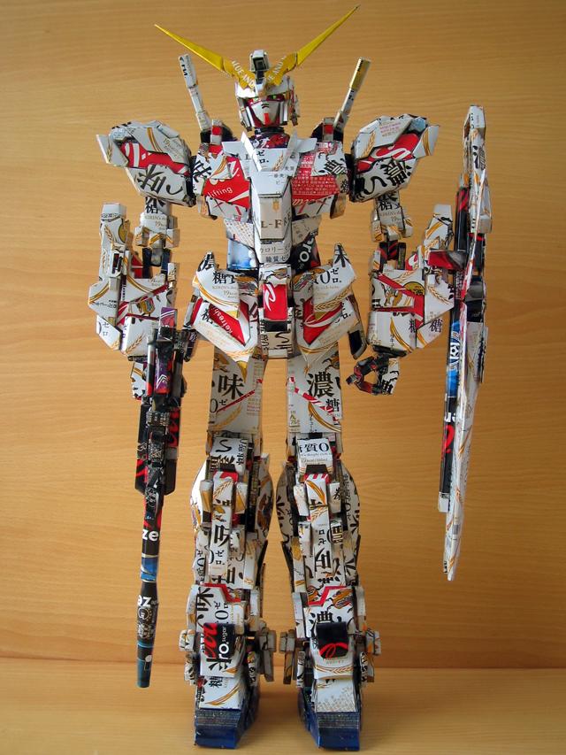 Gundam Unicorn by Makaon