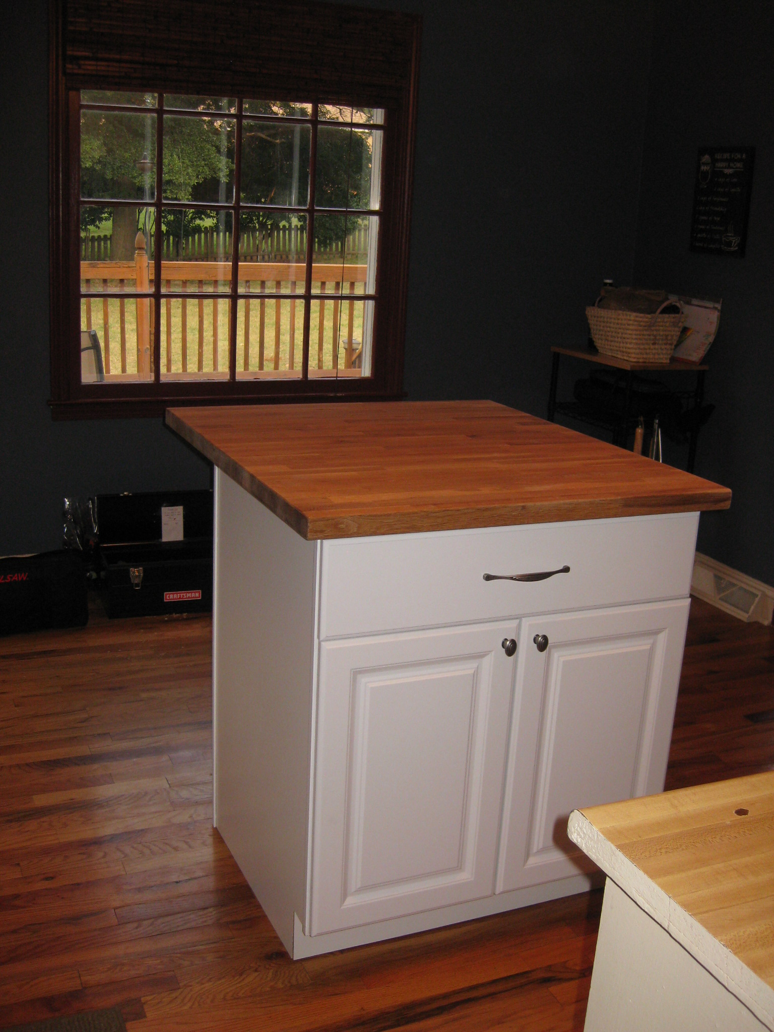 how to build a kitchen island from pre made cabinets building a kitchen cabinet TA DA