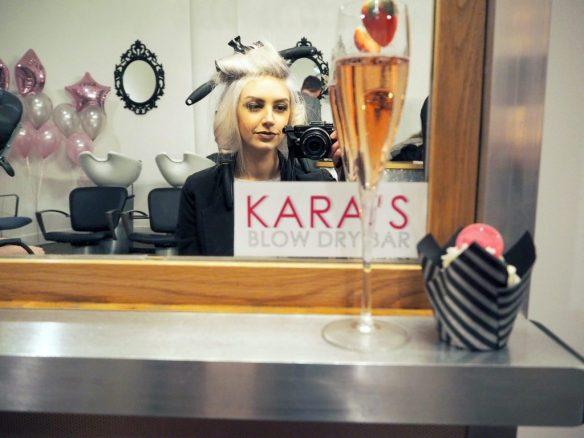 Kara's Blow Dry Bar Manchester - lifestyle blogger laurakatelucas