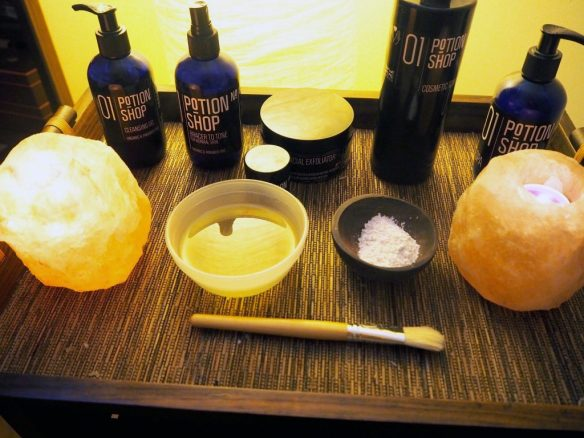 City Spa Escapes Manchester Potions Organic Facial Review - Blogger