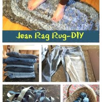 Denim Rug: Give Old Jeans New Life! DIY