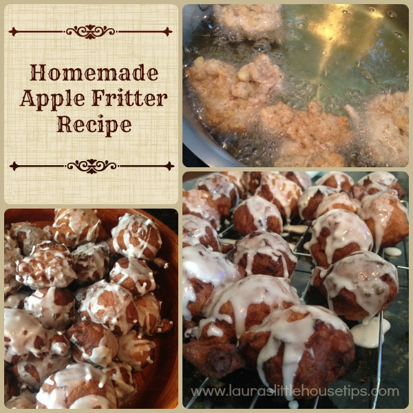 Homemade Apple Fritter Recipe