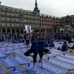 Free Yoga by Oysho Madrid 2016