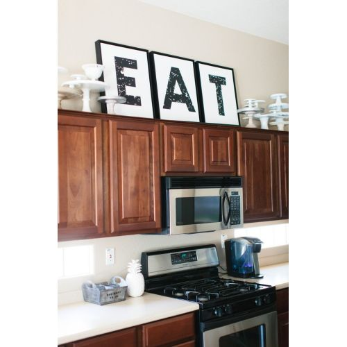 Medium Crop Of Kitchen Decor Above Cabinets