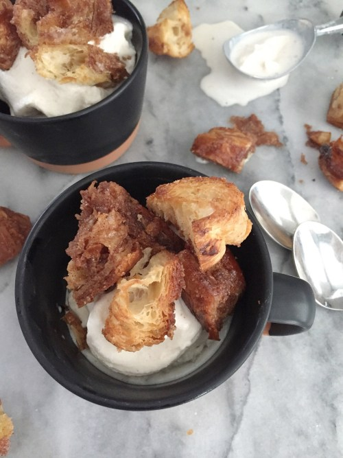 Sweetly Spiced | Cinnamon-Sugar and Garam Masala Dessert Croutons / LAURENARIZA.COM
