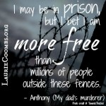 Are There Physical Benefits to Forgiveness? {Guest Blog By Anthony, My Dad's Murderer}