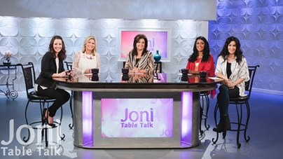 Laurie Coombs on Joni's Table Talk image