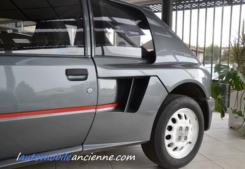 peugeot 205 turbo 16 s rie 200 1984 l 39 automobile ancienne. Black Bedroom Furniture Sets. Home Design Ideas