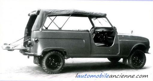 renault 4 sinpar commando marine l 39 automobile ancienne. Black Bedroom Furniture Sets. Home Design Ideas