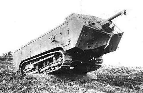 Char Saint-Chamond (1917-1918) | l'automobile ancienne
