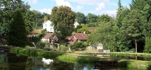 Pisciculture du moulin authier coussac bonneval - Office de tourisme moulins ...