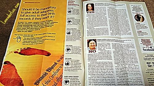 November's Costco Magazine Helps Adoptees FliptheScript