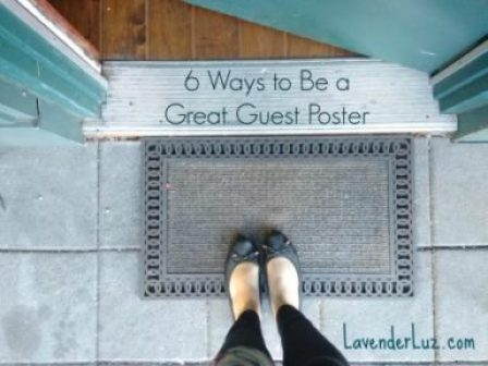 Be a Good Guest Poster: How to Share in Another's Space