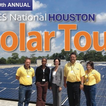 The 2012 ASES National Houston Solar Tour is October 19th. Source.