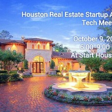 Learn about the Real Estate Startups in Houston at Start on October 9. Source.