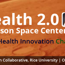 The Space Health Innovation Challenge is actually a space hackathon on the weekend of October 18th. Source.