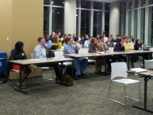 Crowd at Enventure's Venture Deals, Mergers and Acquisitions Panel Discussion.