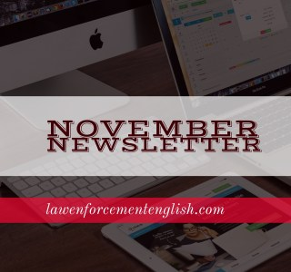 November Newsletter: Death In Dallas and Narrative Tenses