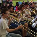 les trombonistes…impressionnants