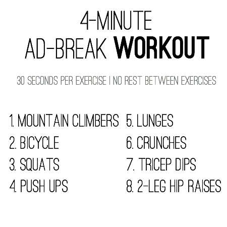 4-minute workout