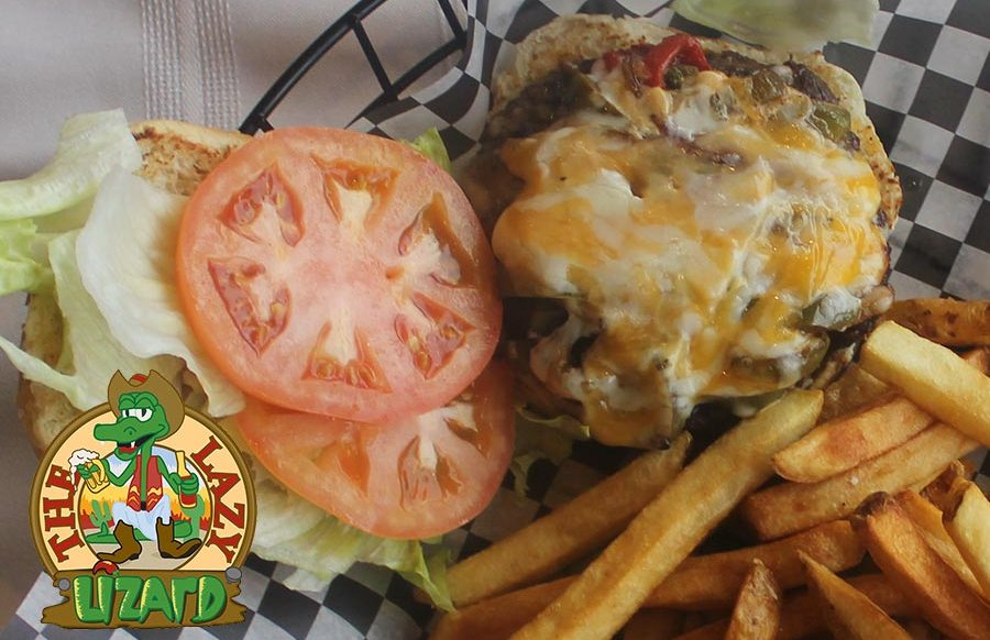 Mighty Fajita Burger - Lazy Lizard - Best Hamburgers St. Catharines