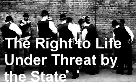 'The Right to Life Under Threat by the State': join us for our annual conference 12 October