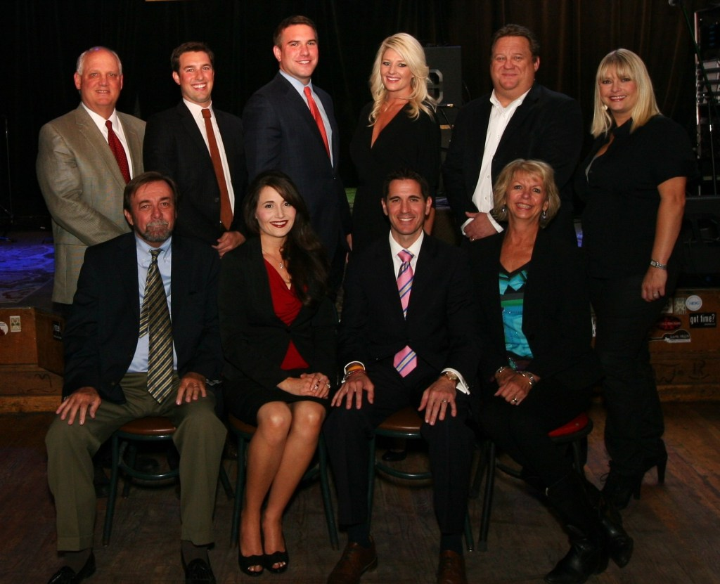 Lubbock Criminal Defense Lawyers Officers and Directors 2015-2016: (seated) Brian Murray, Past President; Allison Clayton, Director; Michael King, Director; Anne Hazlewood, Treasurer. (standing) Chuck Lanehart, VP for court liaison; Justin Kiechler, VP for Education; Frank Sellers, President; Taly Jacobs, President-Elect; Donnie Yandell, Secretary; Jill Stangl, Director.