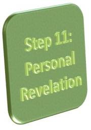 Step 11: Personal Revelation