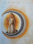 "The figure of Luna ""Le nozze di Constantio Sforza e Camilla d'Aragona, 1480, Italy"