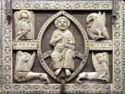 Christ in a vesica piscis = rebirth