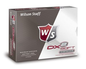 12 balles de golf wilson staff