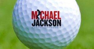 cadeau golf balles michael jackson