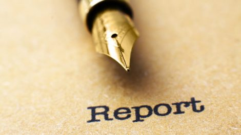 Report and pen
