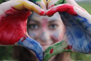 Create connection by moving from our heart