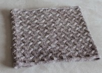 Royal Cowl in Antique Lace