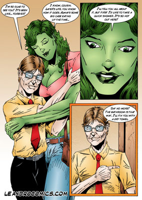 black widow hulk porn comic