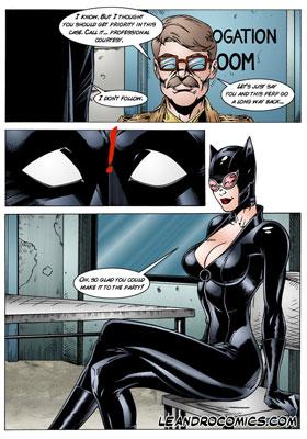 sexy catwoman hentai porn