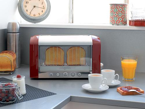 transparent toaster