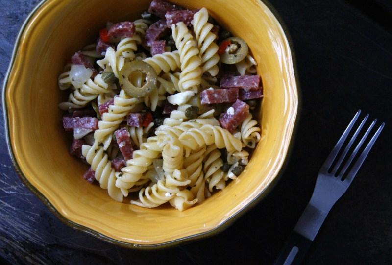 Mezzetta Memories: Salami Pasta Salad Recipe
