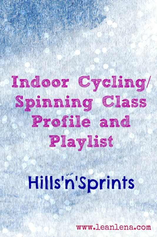 spinning class routine