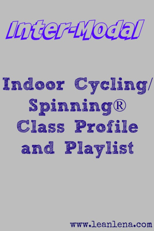 Indoor Cycling Instructors: New Class Profile #45 – Inter-Modal