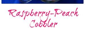 Raspberry and Peach Cobbler5