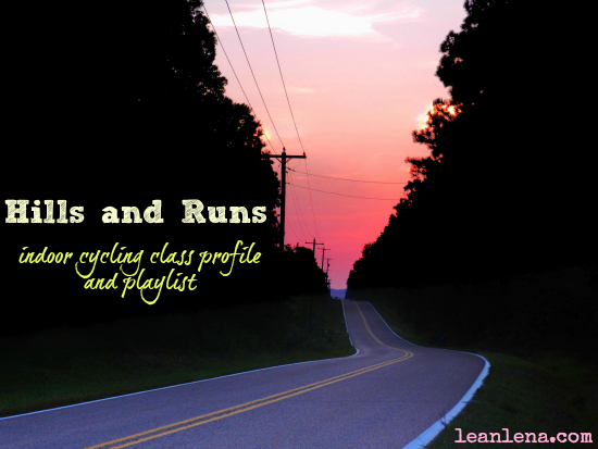 Teach Indoor Cycling: Hills and Runs