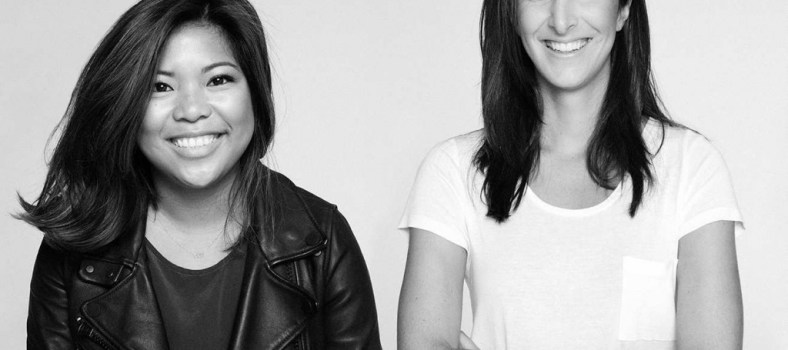 Away's founders, Jen Rubio and Stephanie Korey, have reason to smile. | Photo credit: Nate Poekert