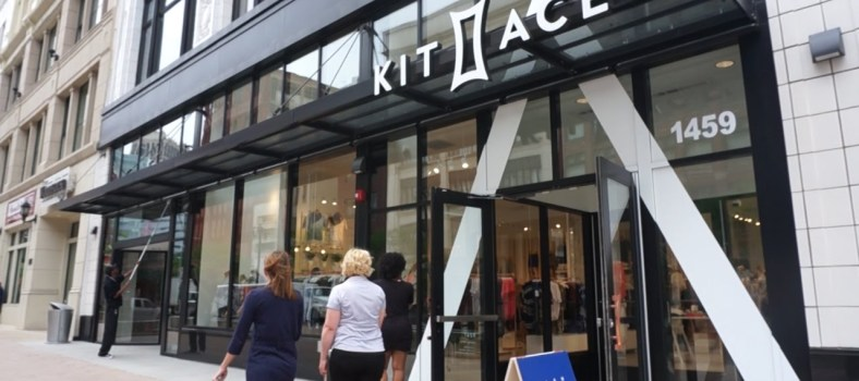 Kit and Ace's Detroit storefront | Photo Courtesy: Daily Detroit