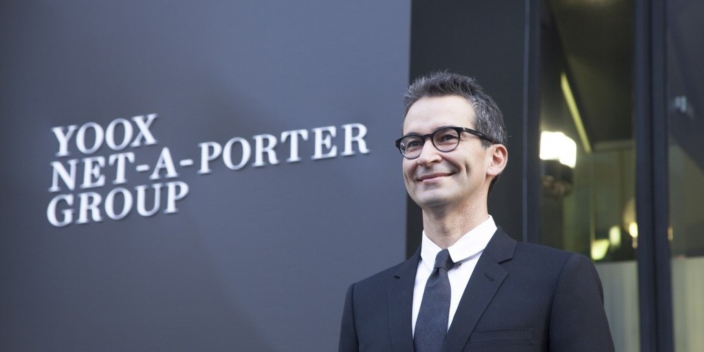 Yoox Net-a-Porter Group CEO Frederico Marchetti, still billions of reasons to remain smiling | YNAP